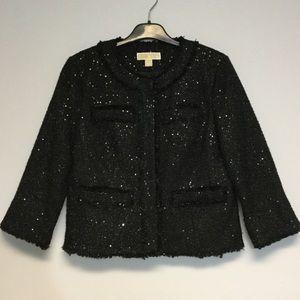 MICHAEL Michael Kors Metallic Jacket